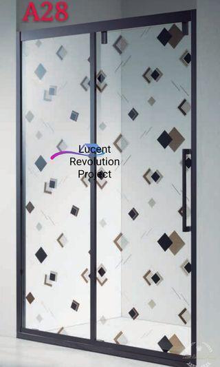材質:啞黑色不銹鋼,鋼化玻璃加防爆。 花紋: 方格