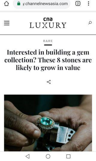 Investment gemstones