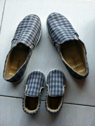 sepatu couple ibu dan anak