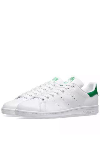 Adidas Stan Smith White & Green (All size available)