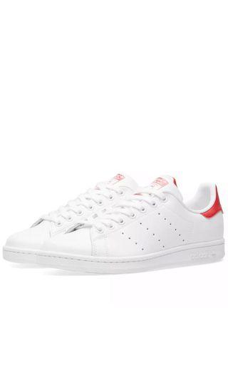 Adidas Stan Smith White & Red (All size available)