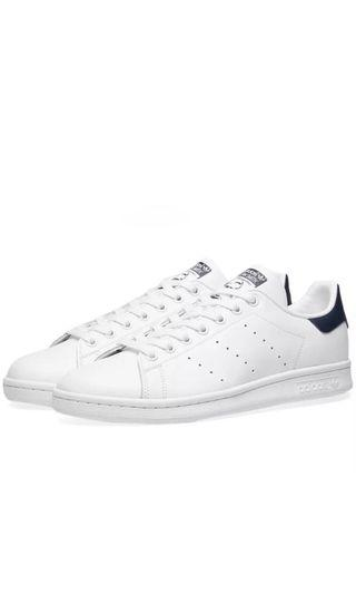 🚚 Adidas Stan Smith White & Navy (All size available)