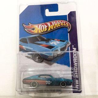 Hot Wheels '72 FORD GRAN TORINO SPORT TH$ tampo K&N