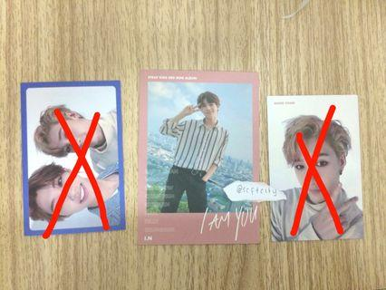 WTT/ WTS I AM YOU CHAN, JEONGIN, FELIX PC
