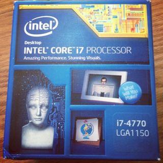 Intel Haswell Core i7 4770+ Asus B85M motherboard+ 16gb DDR3 ram (8gb x2)
