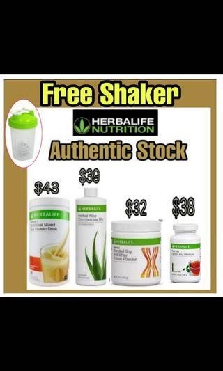 Herbalife Formula 3 protein powder /formula 1 shake /Herbalife herbal tea
