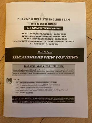 Billy Ng - How Top Scorers View Top New (Paper2&3例子)