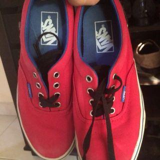 Vans Classic Red-Blue