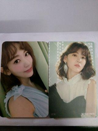[WTS] IZ*ONE SAKURA PC SET