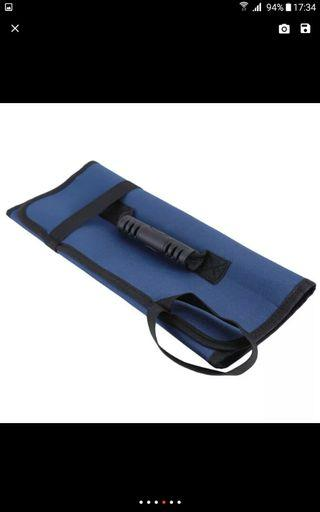 Blue Knife Tools Roll Bag