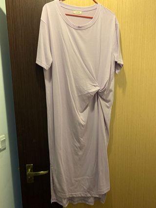 🚚 Purple long dress
