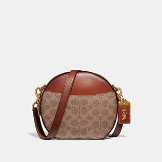 Authentic Coach 38680 Canteen Crossbody Sling Bag