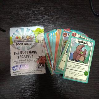 Book Bugs I and II Cards