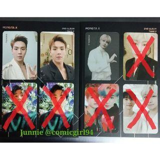 [WTT/WTS] MONSTA X WE ARE HERE Photocards