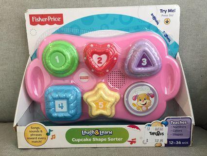 Fisher-Price Cupcake Sorter toy