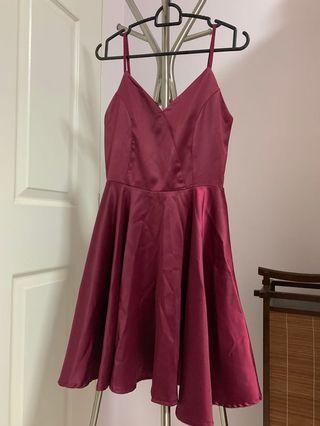 Ref silk dress