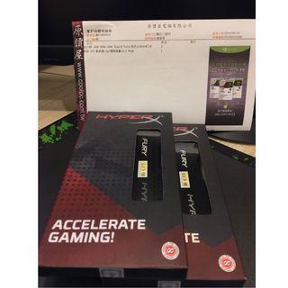 【售】全新未拆 金士頓HyperX Fury DDR4-3466 16G
