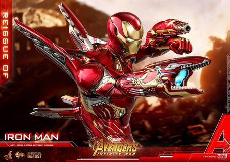 Reissue Hot Toys Iron Man Mark 50 L  Avengers Infinity War