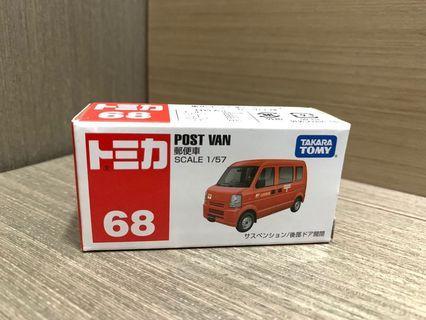 Tomica 車仔 68 POST VAN 郵便車