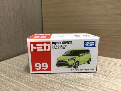 Tomica 車仔 99 Toyota SIENTA