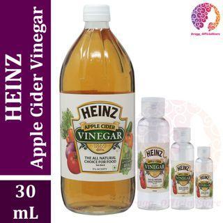 PURE Cuka Apel 30 mL - Heinz Apple Cider Vinegar - Pengganti Bragg Apple Cider Vinegar