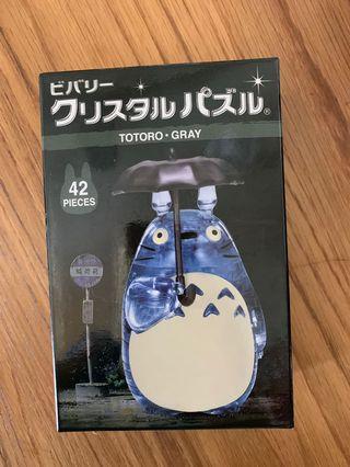 龍貓 水晶立體公仔 拼圖 Totoro