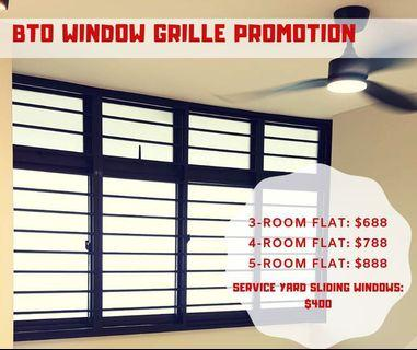 Window and grilles