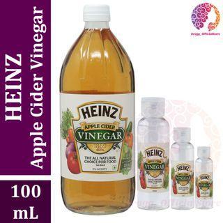 PURE Cuka Apel 100 mL - Heinz Apple Cider Vinegar - Pengganti Bragg Apple Cider Vinegar