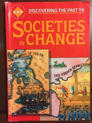 History Textbook Societies in Change