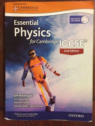 Essential Physics for Cambridge IGCSE 2nd Edition