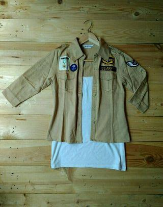 MILITARY SHIRT (MOUTH VALLEY)