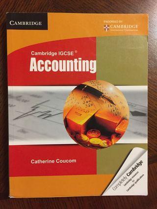 Cambridge IGCSE Accounting