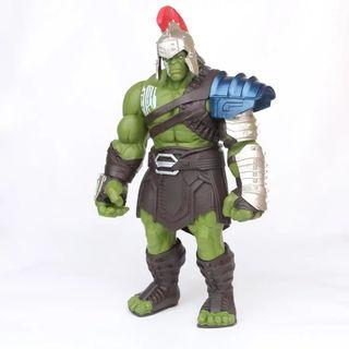 35cm Big Size Avengers Marvel Thor 3 Ragnarok with Moveable Hands, Hammer, Battle Axe - Gladiator Hulk Action Figure