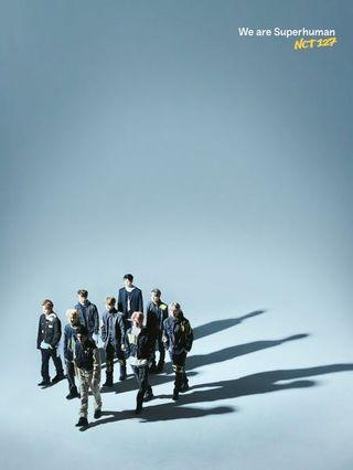 PRE ORDER NCT 127 4TH MINI ALBUM - WE ARE SUPERHUMAN