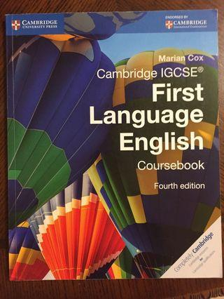 Cambridge IGCSE Language English Coursebook 4th Edition