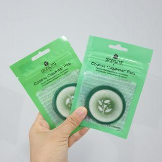 Skinlite Rejuvenating Cucumber Pads Zipper Bag