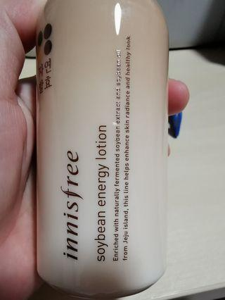 🚚 Innisfree soybean energy lotion korea