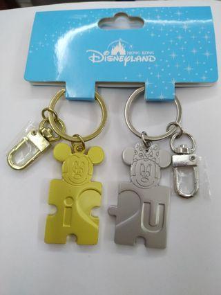 Disney 情侶鎖匙扣