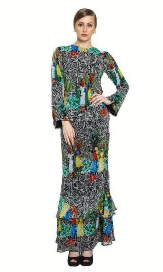 NEW Clearance! Kurung Modern Owl by Nora Danish