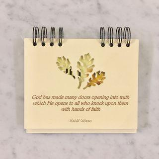 Photo Album w Motivational Quote (Kahlil Gibran)
