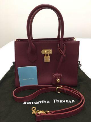 日本Samantha Thavasa 酒紅