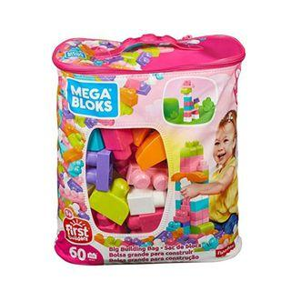Fisher Price Mega Blocks first builders 60pcs Education Bloks Toy Pink