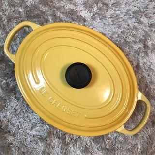 Le Creuset 25cm Honey Yellow oval 蜂蜜黃橢圓鍋