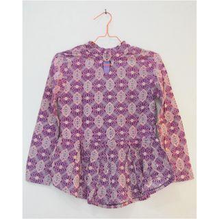 Preloved Batik Wanita Ungu