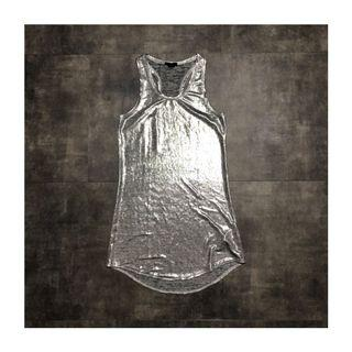 H&M Silver Shiny Dress