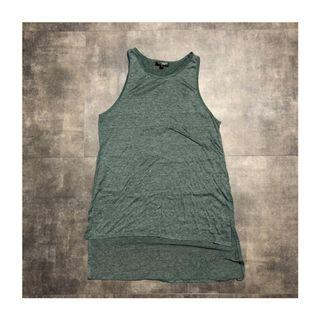 TOPSHOP High Low Tank Top