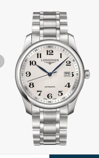 Longines Master Men's Chain Watch