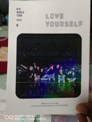 🚚 Love Yourself DVD Stickers Pack
