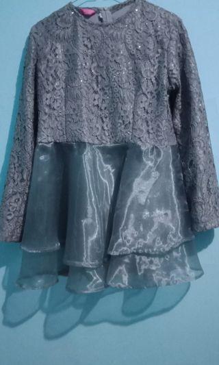 Atasan Brukat & kain batik