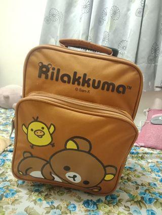 拉拉熊迷你行李箱